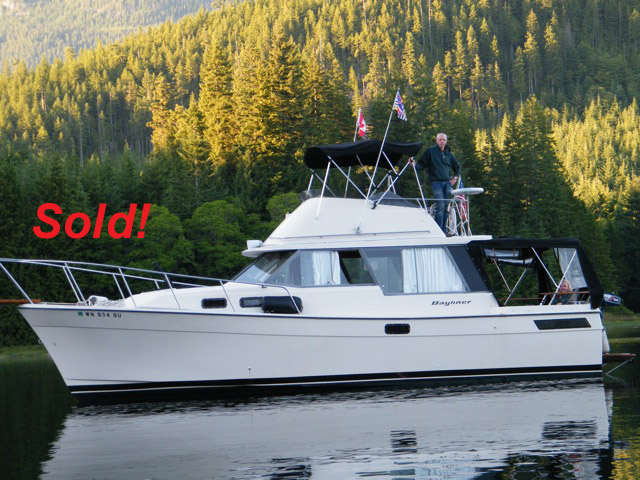"BAYLINER 3270 MOTOR YACHT. 32' X 11' 6"" X 2' 6"". Asking Price....$23950"