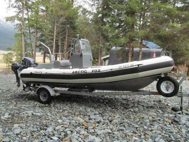 REDUCED $37,500!  19' ALMAR RAIV WITH 5 CHAMBER SOTAR COLLAR.  115 YAMAHA, LOADED WITH TRAILER.