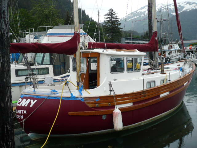 REDUCED!  30' FISHER PH MOTOR SAILER NEW YANMAR 30 HP, WELL EQUIPPED, CLEAN VESSEL.$59,500