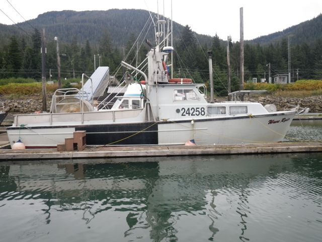 REDUCED! 41' MEL MARTIN STERN PICKER, 280 HP VOLVO, PACKS #7000, $49,000