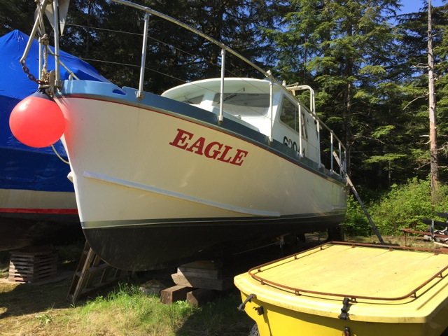 NEW! 32' RAWSON CRUISER, 315 CUMMINS, HUGE BACK DECK, NICELY EQUIPPED. $52,500