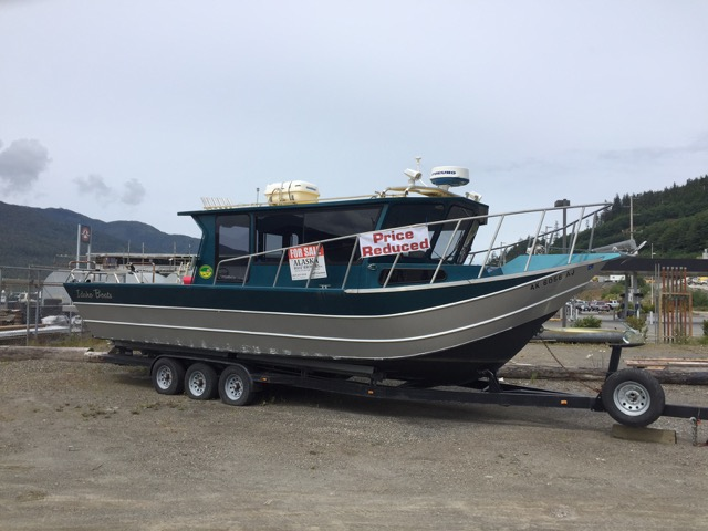 REDUCED! HUGE ALUMINUM PILOTHOUSE, TWIN 4.2L CUMMINS, OUT DRIVES, TRAILER, $145,000