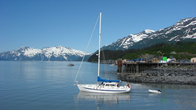 REDUCED! 45' FIBERGLASS MOTOR SAILER, 2 STATE ROOMS, 98 HP NISSAN, NICE LIVE-ABOARD,$85,000