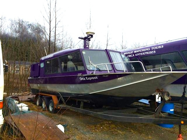 30' X 10' DUCKWORTH PASSENGER VESSEL. COI FOR 13, TWIN 8.1L GAS/ JET DRIVE. ASKING $89,000