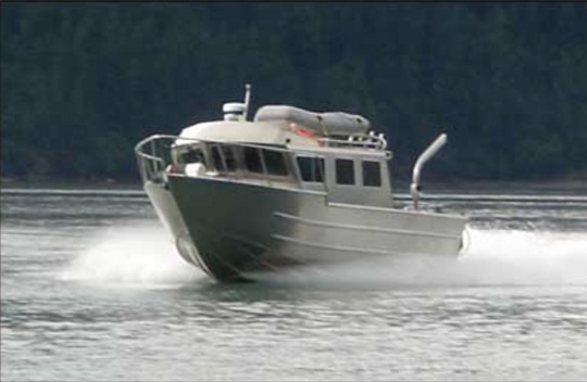 NEW! 33' GLACIER CRAFT KING OFFSHORE, TRIPLE 250 HP YAMAHA's, 11'X 11' COCKPIT, TLR.