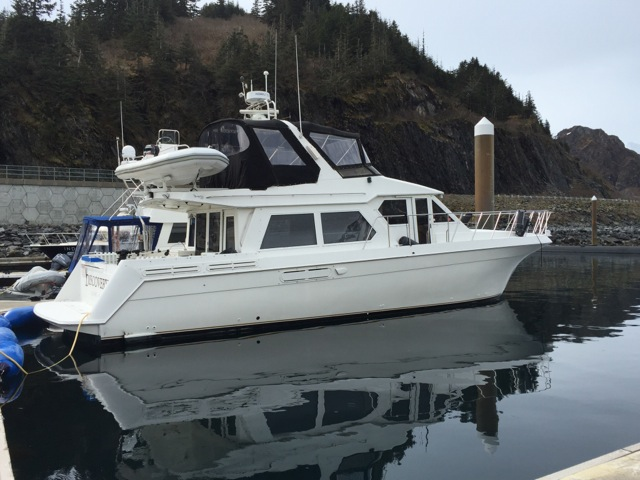 REDUCED! 53' NAVIGATOR PILOTHOUSE MY, TWIN 370 HP VOLVO's GEN, MANY CRUISING UPGRADES