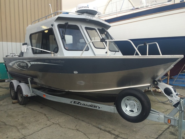Reduced! 2014 22' Hewes Craft Ocean Pro. 250 Yamaha, 9.9 Kicker, Aluminum Floor, Endless Options