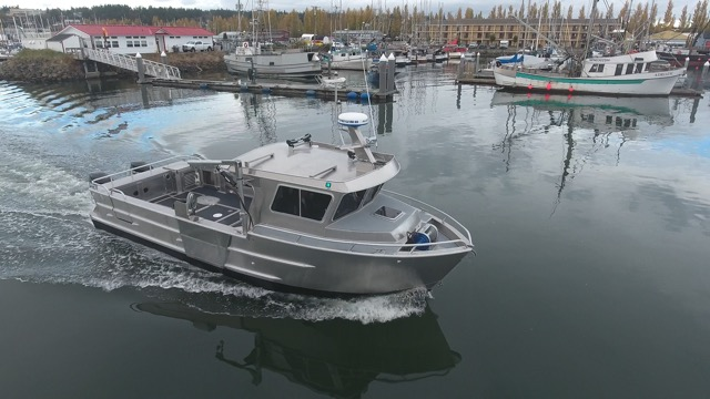 New ACI Boats Combo Sternpicker.  Crab, Shrimp, Longline