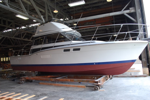 New 36' Trojan F-36 Convertible. Twin 3126 Cats, 4' Extension, Extensive Refit. $95,000