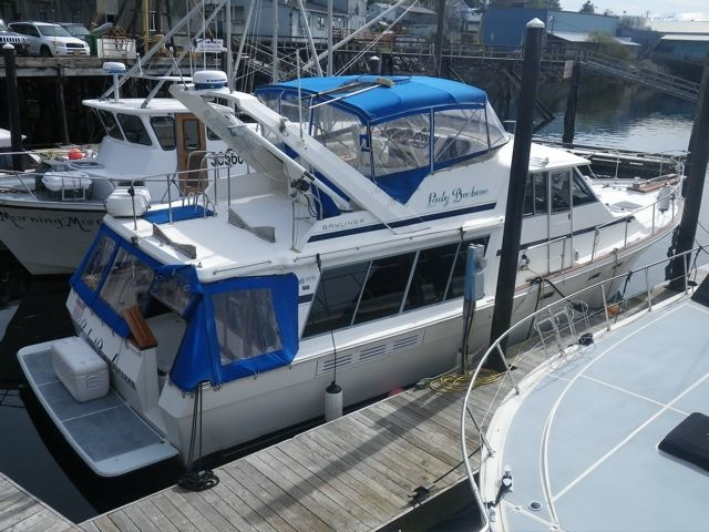 NEW! BEAUTIFUL 45' BAYLINER 4518, TWIN 220 HP HINO's, NICELY EQUIPPED FOR ALASKA CRUISING!